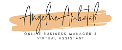 Angeline Ambatali – General Virtual Assistant and Online Business Manager Logo